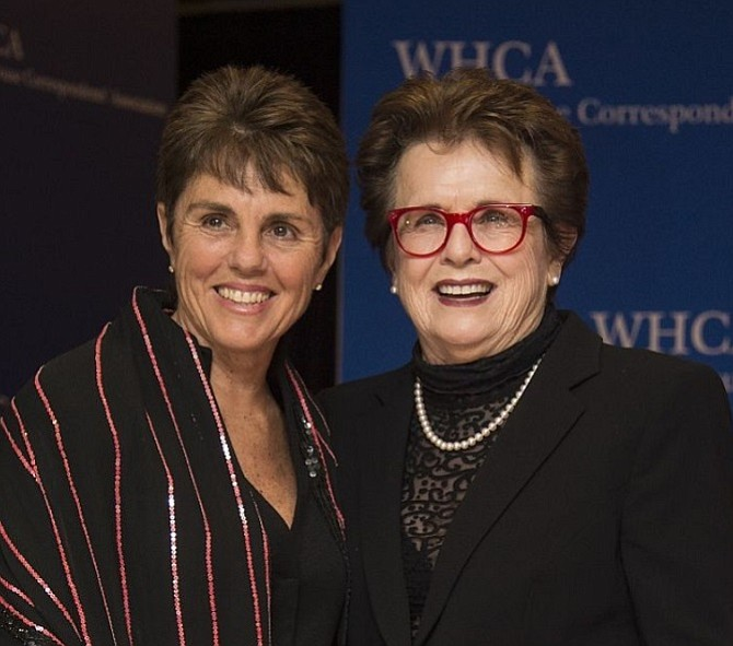 Ilana Kloss and Billie Jean King