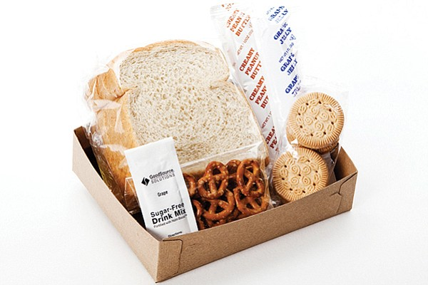 A collection of Good Source products served in a box. Photo courtesy of Good Source Solutions