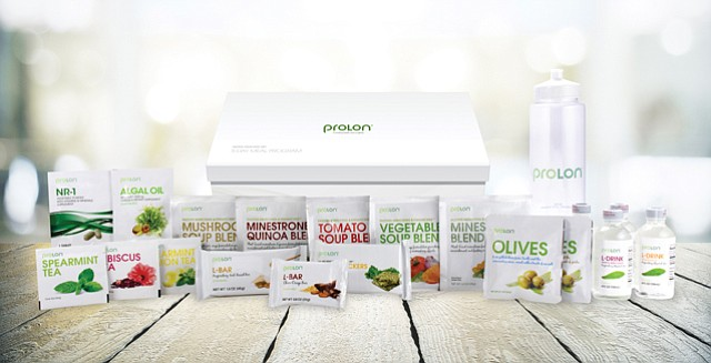 ProLon Package: Five-day meal plan designed to bring out positive effects of fasting.
