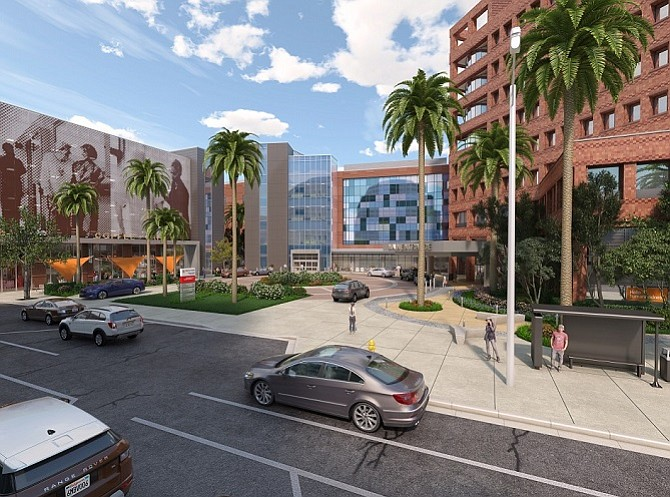 Dignity Health California Unveils Plans For New Hospital Tower At