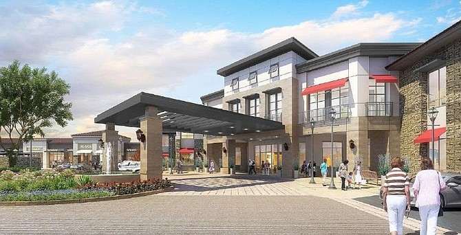 Rendering of Griffin Plaza Senior Living in Simi Valley.