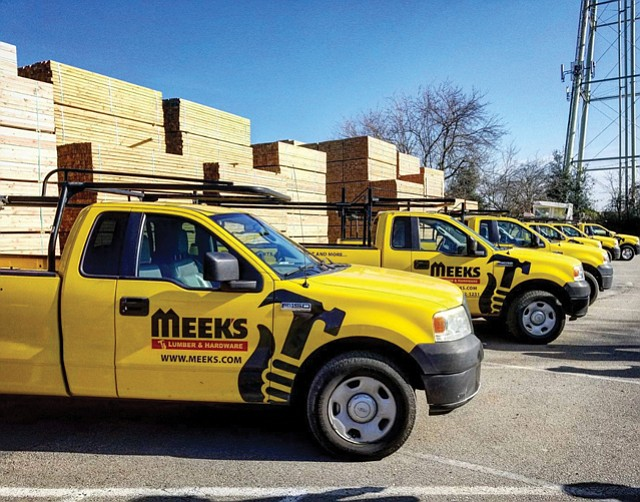 Hard Earned: Meek's Lumber has been family-owned since 1919.
