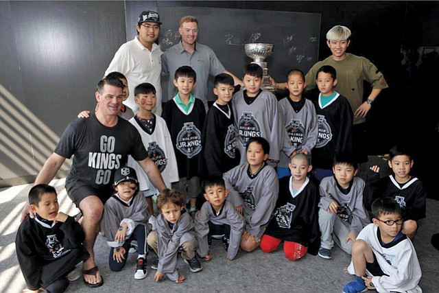 Kings in China: Played preseason games there, now plans to sponsor team.