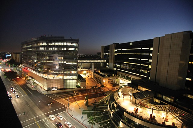 Cedars: Hospital is largest medical facility in L.A. County.