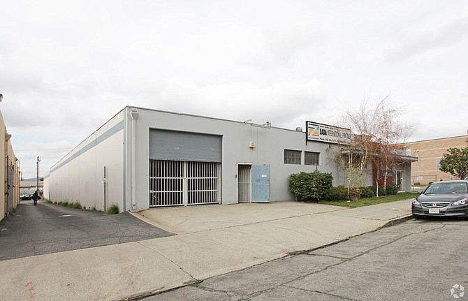 Warehouse at 301 S. Flower St. in Burbank.