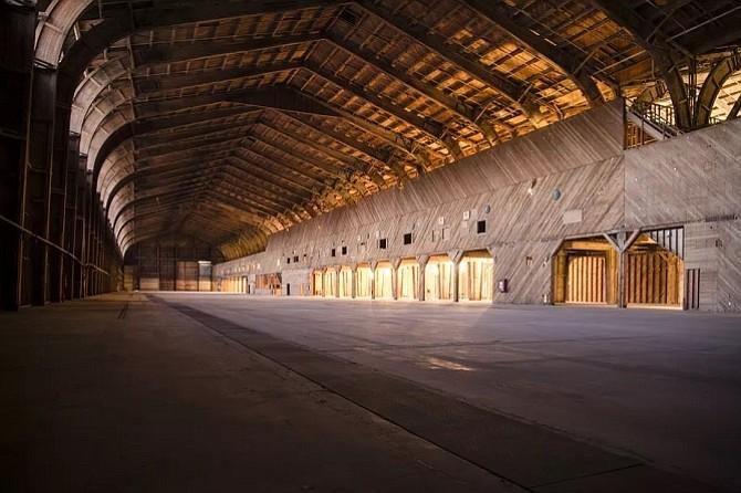 Spruce Goose hanger