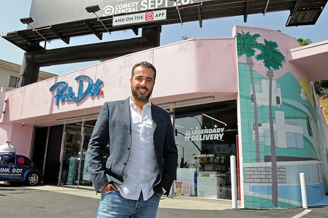 Yamini: Owner of Sunset Strip retail and delivery brand's parents are happy now.