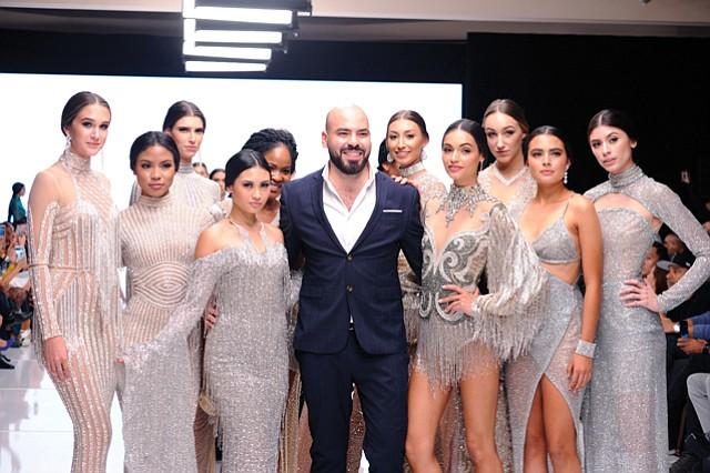 Designer Elie Madi received the Moss Adams Fashion Innovator Award.