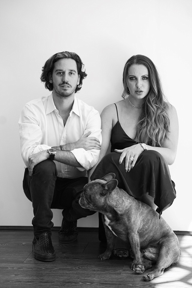 Fine Art Founders: Elio D'Anna and Simonida Pavicevic.