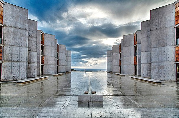 The iconic Salk Institute building in La Jolla. Salk is among the research institutes revamping its business models. Photo courtesy of Salk Institute