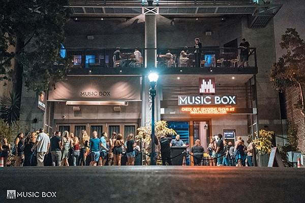 Music Box is a three-story concert venue in Little Italy. Photo courtesy of Music Box