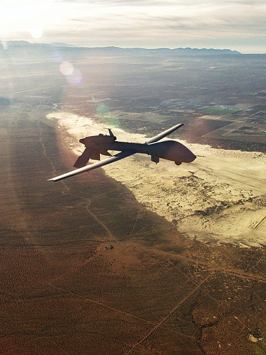 The U.S. Army awarded a five-year, $442 million technical services contract to General Atomics Aeronautical Systems Inc. to support its Poway-built Gray Eagle aircraft. Photo courtesy of General Atomics Aeronautical Systems Inc.