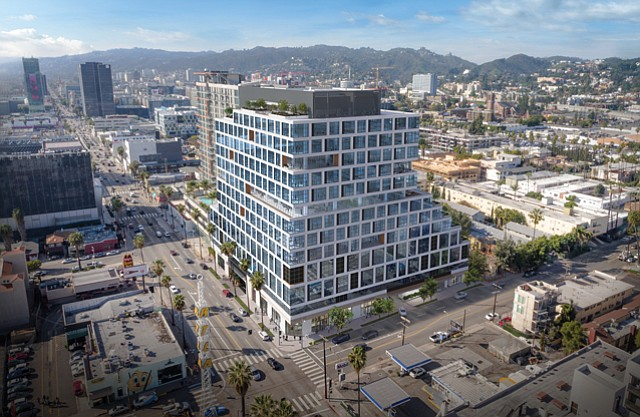 Epic: Netflix leased all 328,000 square feet for production office at the 13-story property at Sunset Boulevard and Bronson Street.