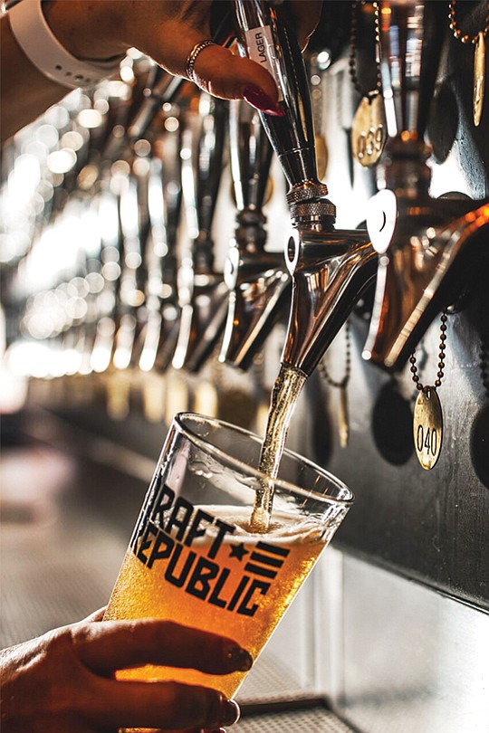 Cohn Restaurant Group's latest endeavor, Draft Republic Brewing Co., will be a 25,000 square-foot indoor-outdoor restaurant with a 17-barrel brewing system. Photo courtesy of Cohn Restaurant Group