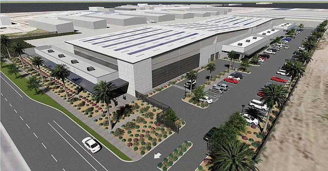 Rendering of Cloud 9 at Camarillo project.