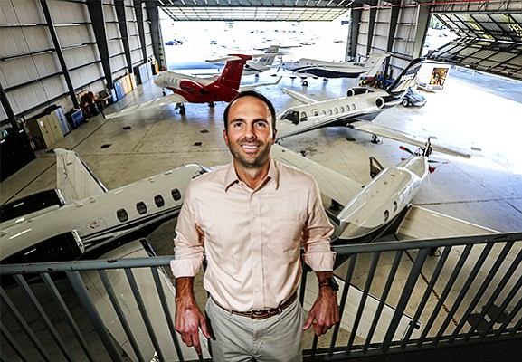 Casey Miller, president of Latitude 33 Aviation, which manages, charters and sells aircraft and is based at McClellan-Palomar Airport in Carlsbad, says the company recently added two new aircraft to its 35 aircraft fleet, 14 of which are based in San Diego.