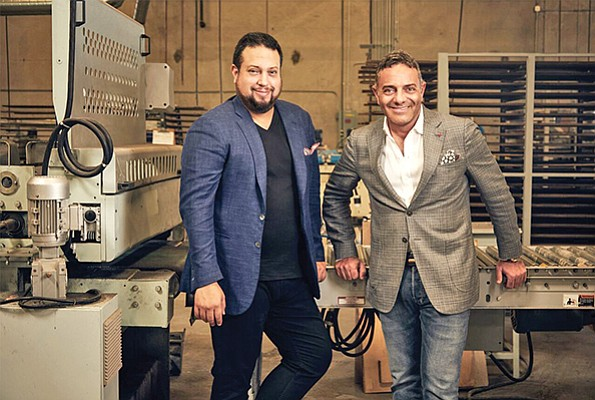 Misael Tagle and Benjamin Buzali founded DuChateau in 2008. The company boasts local clients like the trendy Born & Raised steakhouse and the Pendry boutique hotel downtown. Photo courtesy of Duchateau