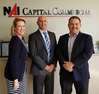 NAI Capital's new brokerage team.