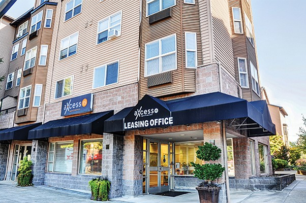The 202-unit Axcess 15 Apartments in Portland was recently acquired by MG Properties for $66 million. Photo courtesy of MG properties