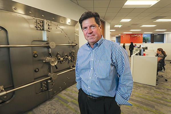 Mitek Systems Inc. is searching for a successor for longtime CEO Jim DeBello, who will leave the company in January. After DeBello's departure was announced, reports surfaced that Mitek may be trying to fend off unwanted acquisition attempts. File photo by Jamie Scott Lytle