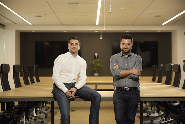 Serving Sales: ServiceTitan founders Ara Mahdessian and Vahe Kuzoyan.