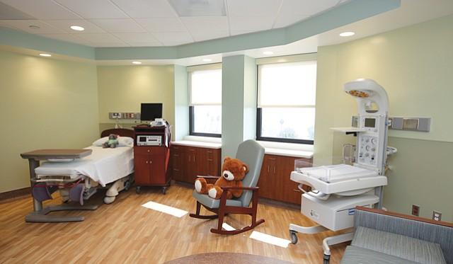 Maternity Matters: Centinela Hospital adds newborn unit on top floor.