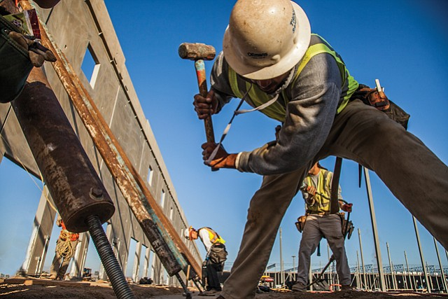 Hammering Home: Oltmans Construction's revenue jumped to $735 million.