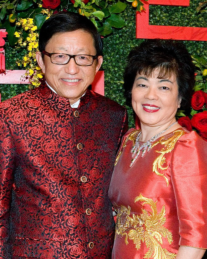 Charlie and Ling Zhang