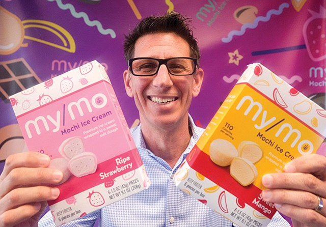 Growth Snacker: Barnett helped launch the My/Mo mochi ice cream brand.