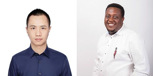 Bringing Beats: Boomplay CEO Joe He and Regional Director Oyebowale Akideinde.