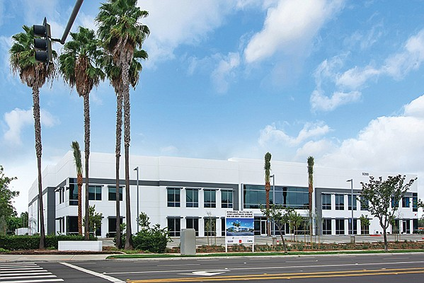 This $12 million Kearny Mesa industrial building was completed in October by BLT Enterprises, Inc. Photo courtesy of BLT Enterprises, Inc.