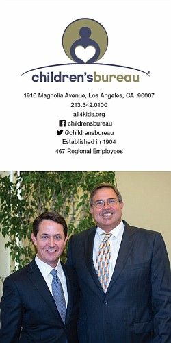 Children's Bureau Board Chair Patrick Niemann and Children's Bureau President & CEO Ron Brown at the organization's 2018 Annual Celebration in Los Angeles.
