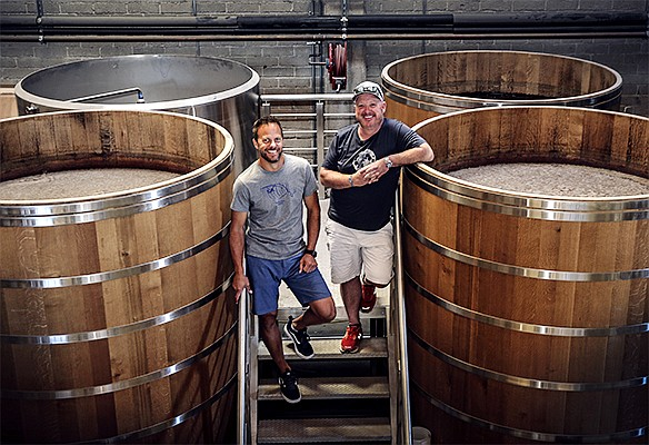 Steve Kuftinec (at right), co-founder of Storyhouse Spirits with partner Matt Kidd, believes that, like the craft beer scene in San Diego, craft spirit is on a similar, if not more accelerated trajectory of growth.