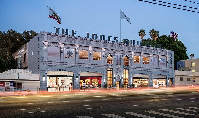 Rendering of the Jones Building in Silver Lake