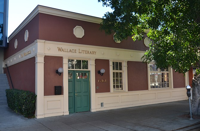 Wallace Literary at 15464 Ventura Blvd. in Sherman Oaks.