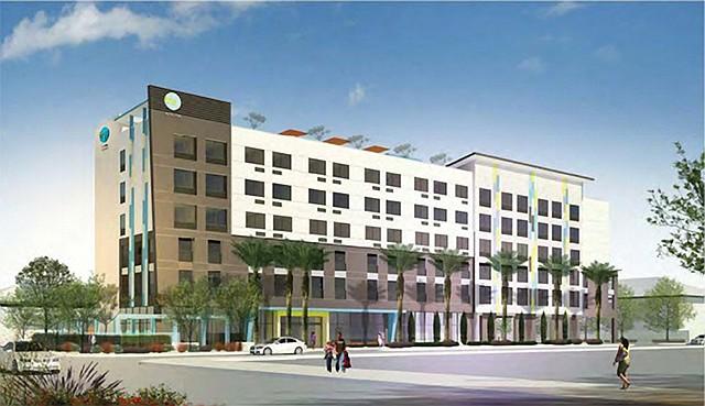 Planned Inglewood hotel