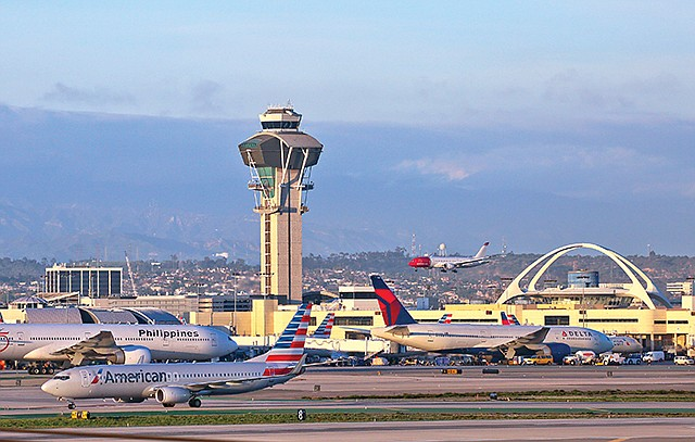 Traffic Control: The number of passengers traveling through LAX is projected to be up again in 2018.