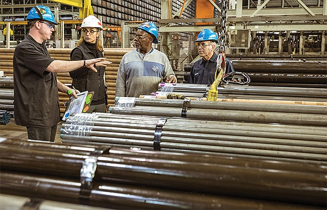 Men of Steel: R.T. Beers' business is focused on metal service centers' safety programs.