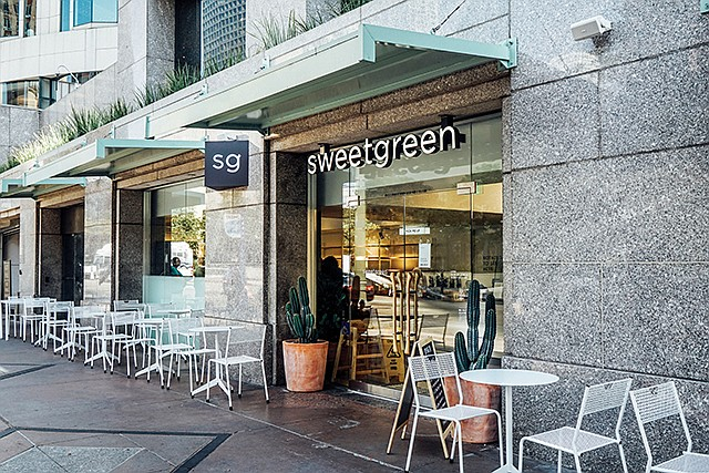Producing Results: Sweetgreen's salad enterprise was recently valued at $1 billion.