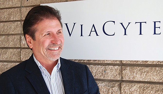 Paul Laikind is the CEO of ViaCyte, a San Diego company flying high with a recent $80 million Series D round. Photo courtesy of ViaCyte