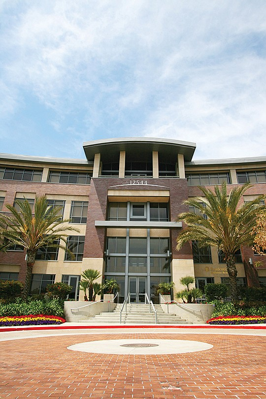 Procopio expanded its Del Mar Heights offices after the Irvine Co. acquired One Del Mar in early November. With the additional space, Procopio is looking to recruit four additional startups for its tech incubator, LaunchPad. Photo courtesy of Procopio