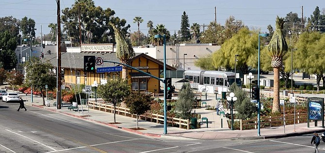 Lankershim Depot in North Hollywood.