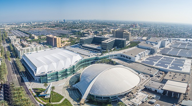 Anaheim Convention Center campus: 1.1M SF