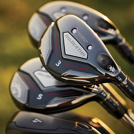Released in the mid-90s, Bertha is a driver and, among golf insiders, arguably the first oversized golf club to exist. Photo courtesy of Callaway Golf Co.