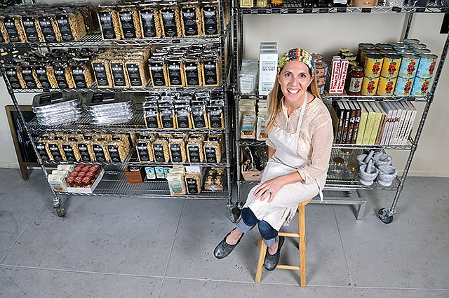 Local Sourcing: Ferrazzani uses suppliers close to home to produce her artisanal pasta line.