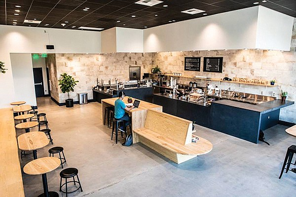 Leap Coffee recently opened its second location, this time at Restaurant Row at The Shoppes in Carlsbad. Photo courtesy of Leap Coffee
