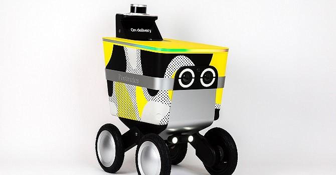 Postmates' order-delivery robot