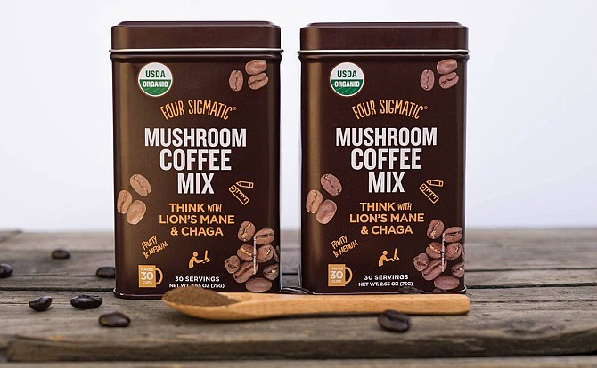 Funguys' Four Sigmatic brands sells mushroom coffee and tea