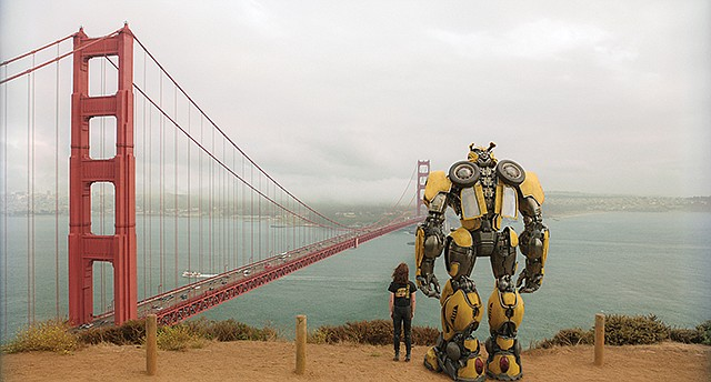 "Transformational: Paramount Pictures' ""Bumblebee"" received $22.4 million in California film tax credits."