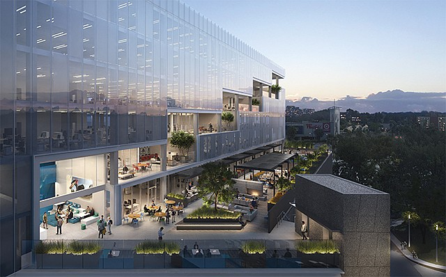Entrada Rendering: Culver City development will cater to entertainment, media and technology companies.